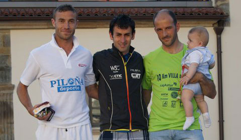 Podio senior 10Km Tineo 2011