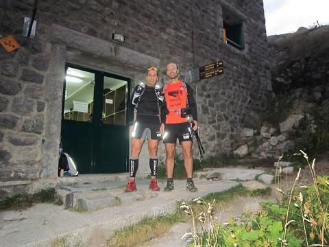 Jorge Rivero e Iván Torre en Restanca