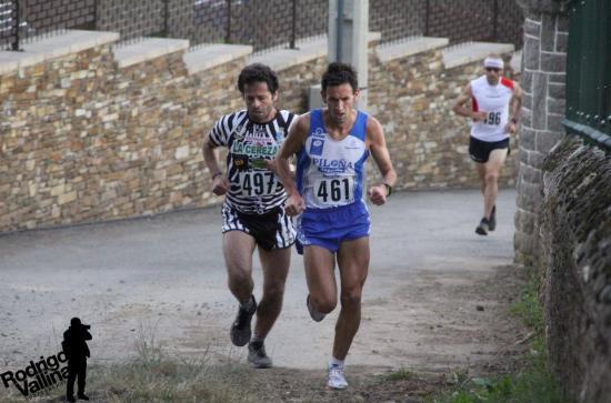 Iki y Martín encabezando la carrera