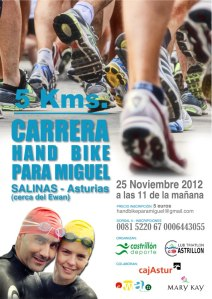 Carrera Hand Bike para Miguel