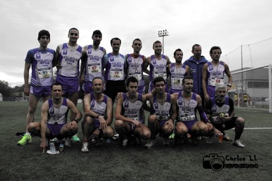 Víctor, Manu, Luis, Isaac, Juan Luis, Pedro, Lolo, Solares, Juan Carlos.Anselmo, Claudio, Martín, David, Luis, Jose Luis.