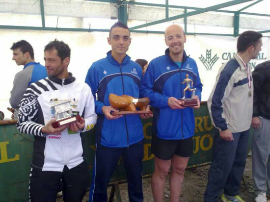 Podio Senior Cross de la Amistad 2013