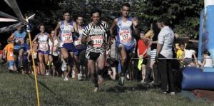 El equipo del Piloña Deporte que participó en el VII Cross de Biedes