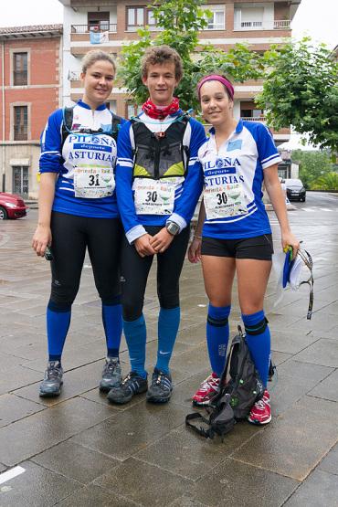 Gracia, Beltrán y Romina