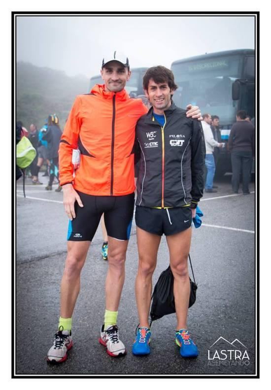 Manu y Martín en la Batallona 2014