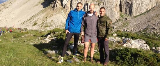 Manu, Iván y Jonathan