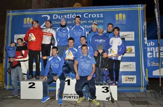 Piloña.Deporte en el tercer escalón del podio. (Foto de Cangas de Onís Ciclismo Escuela de BTT).