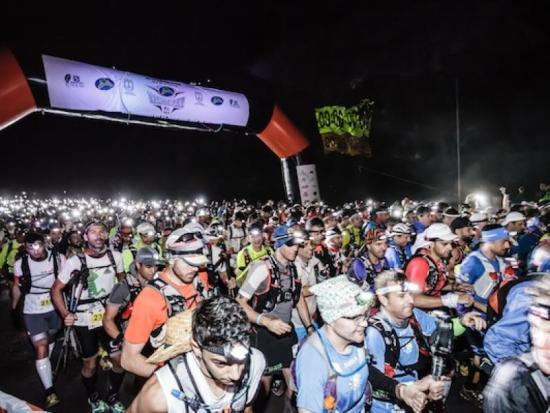 Salida de la ultramaratón. (Foto del Organizador).