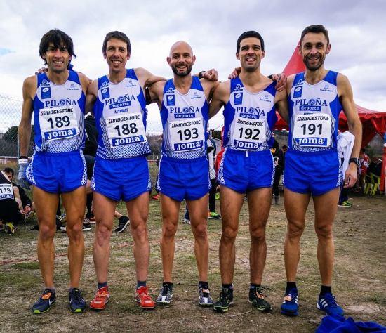 Martín, Nando, Rafa, David y Gonzalo