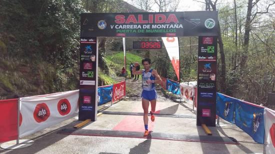 Martín, ganador el sábado. (Foto del organizador).