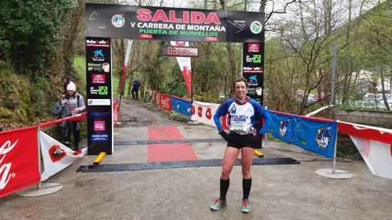 Susana, ganadora el domingo. (Foto del organizador).