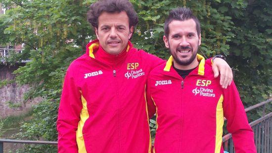 Juan Carlos y Lolo