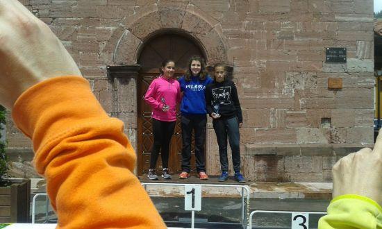 Jimena, Julia y Alba