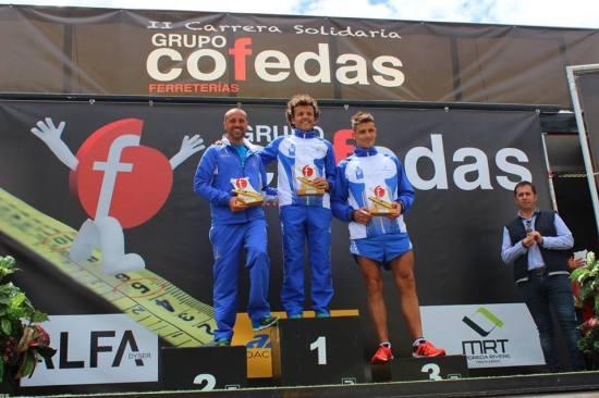 Jorge Cosío, Juan Carlos y Alejandro. (MV Foto).