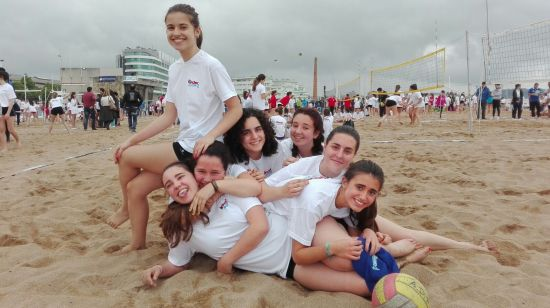 En todas las fotos vais a ver felices a las chicas. (Foto de Rodrigo Andrade Corzo)