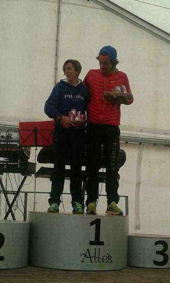 Susana y Andrés, ganadores absolutos.