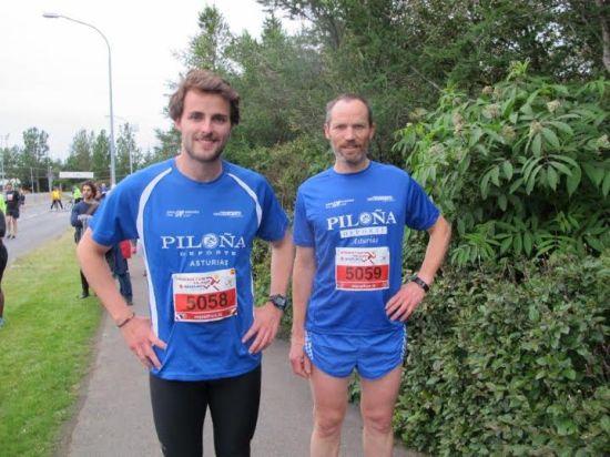 Los mediomaratonianos