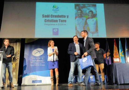 Craviotto. (Foto de La Nueva España)